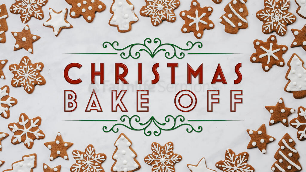 Christmas Bake Off large preview