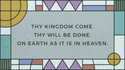 The Lords Prayer  PowerPoint image 1