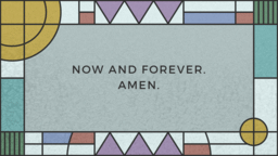 The Lords Prayer  PowerPoint image 13