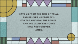 The Lords Prayer  PowerPoint image 17