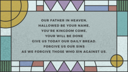 The Lords Prayer  PowerPoint image 18