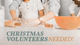 Christmas Volunteers Dough  PowerPoint image 1