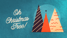 Oh Christmas Tree  PowerPoint image 1