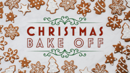Christmas Bake Off  PowerPoint image 1