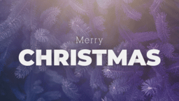 Merry Christmas Branch  PowerPoint image 1