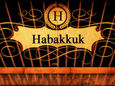 Habakkuk 2:2-20 - Though The Fig Tree Does Not Blossom