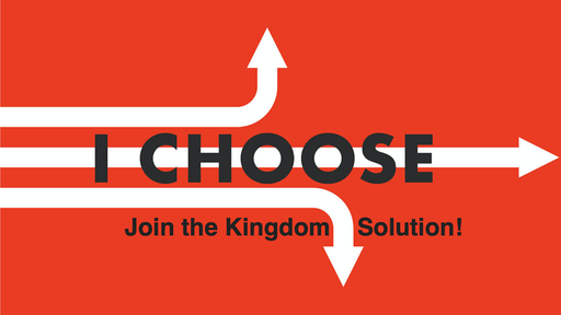 "2019-11-13 I Choose - ""Join The Kingdom Solution"" - Zhe'Anna Gutierrez"