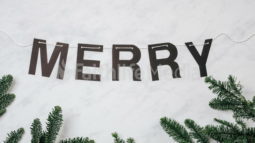 Merry Banner large preview