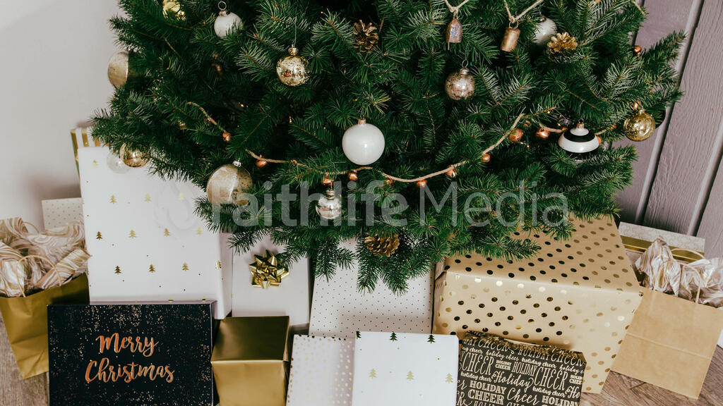 Christmas Presents under the Tree large preview