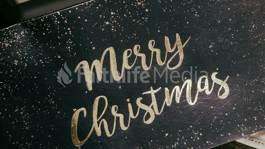 Merry Christmas Gift Box large preview
