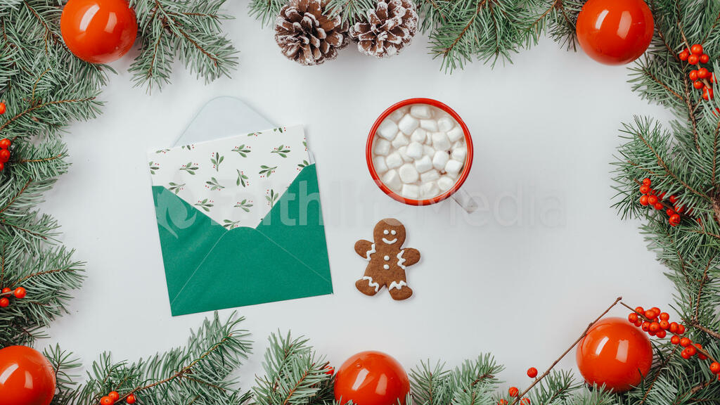 Christmas Border large preview