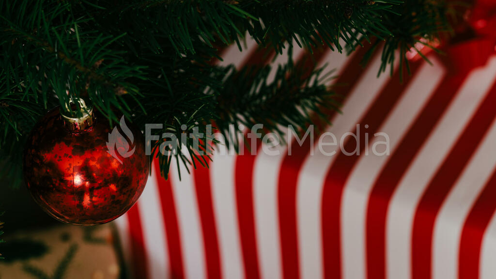 Red Christmas Ornament large preview