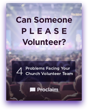 Can Someone PLEASE Volunteer?: 4 Problems Facing Your Church Volunteer Team