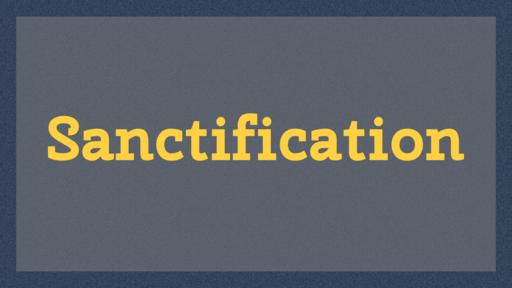 Sanctification (ABC-1904)