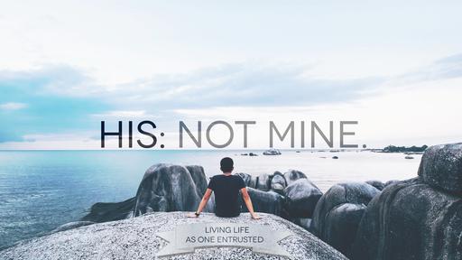 His: not Mine