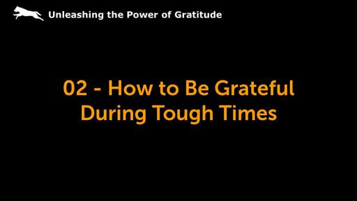 Unleash a Life of Gratitude