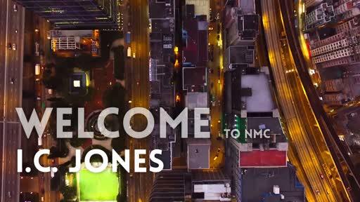 Welcome I.C. Jones