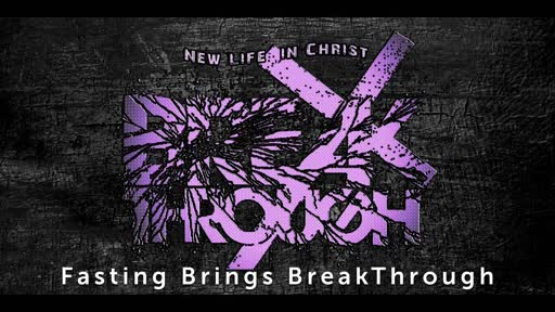 We Must Position Ourselves to see BreakThrough