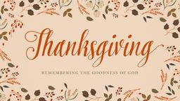 Thanksgiving 16x9 PowerPoint Photoshop image
