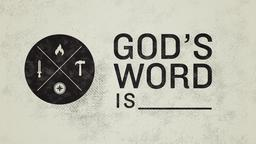 God's Word Is  PowerPoint Photoshop image 1