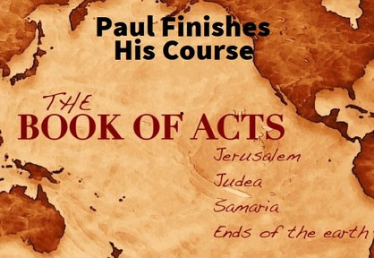 11/17/2019 - Paul Finishes His Course