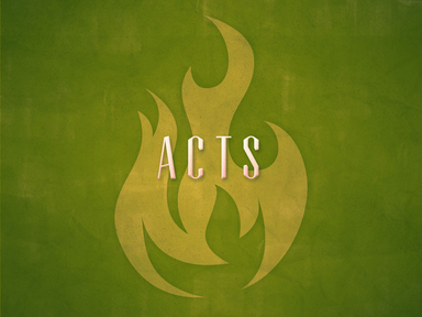 Book of Acts: Proclamation Fall19