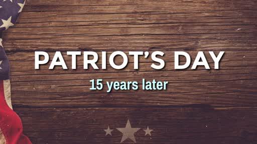 Patriot's Day - 9/11/2016