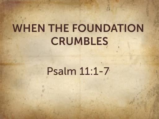 When the Foundation Crumbles
