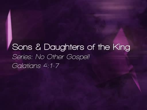 Sons & Daughters of the King - September 11, 2016