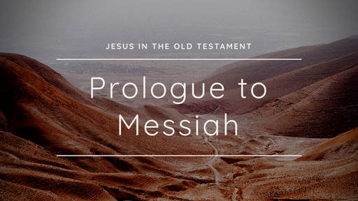 Prologue To Messiah: Sacrifice, Suffering, and Passover Lamb   Chris Dewar   November 10, 2019