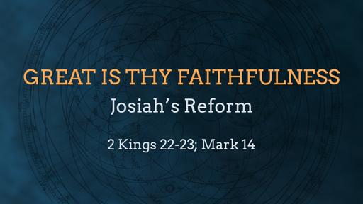 Josiah's Reform