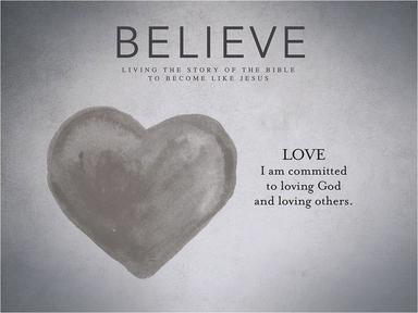 Sept 18, 2016 - New Life Viroqua - Believe Series - Week 21 - Love