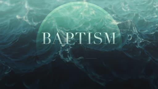 Baptism November 2019 - Evening service