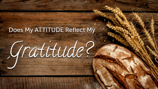 11.24.19 Does My Attitude Reflect My Gratitude
