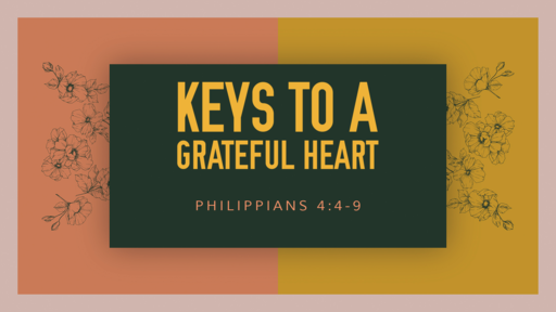 Keys to a Grateful Heart