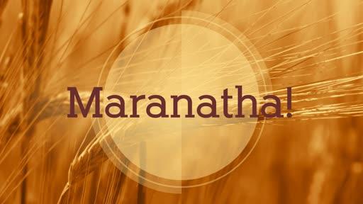 Colossians 1:24-29 - Maranatha!