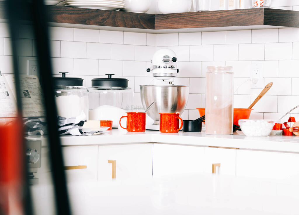 Kitchen Counter at Christmastime large preview