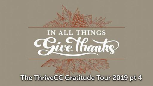 The Thrive CC Gratitude Tour