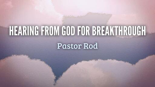 Hearing from God for breakthrough