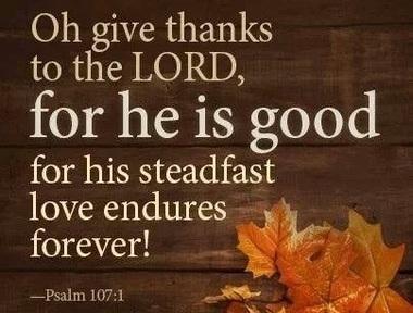 11/24/2019 - Thankfulness