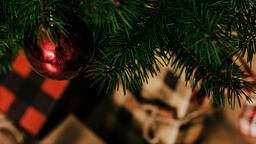 Red Christmas Ornament  image 2