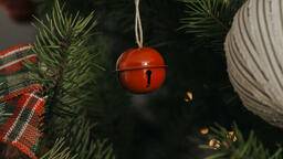 Red Christmas Ornament  image 6