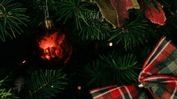 Red Christmas Ornament  image 7
