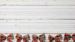 Plaid Christmas Bows  image 2