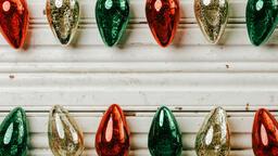 Christmas Light Ornaments  image 1