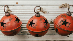 Rustic Christmas Bell  image 2