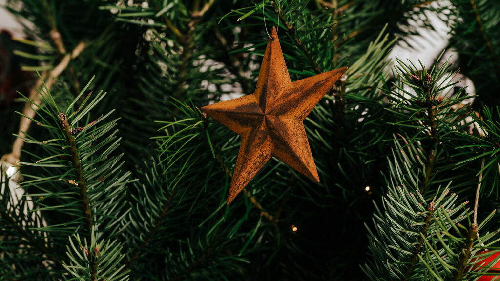 Rusty Star Ornament large preview
