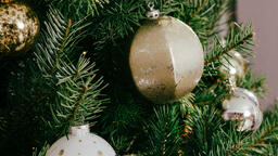 Christmas Tree Close-Up  image 1