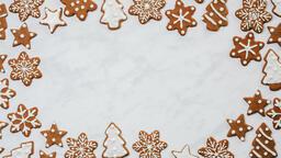 Snowflake Gingerbread Cookies  image 3