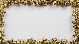 Gold Christmas Bows  image 2